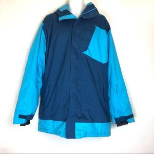 under armour storm Hooded Snow jacket size 2X blue